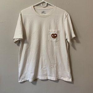 SPRZ NY x Jason Polan pretzel t shirt